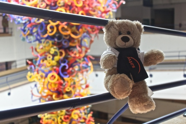 Dale Chihuly's Fireworks of Glass Traveling Teddy