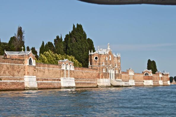 The island cemetery of Venice